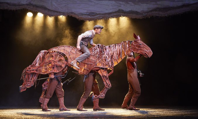 Thomas Dennis as Albert & Joey in WAR HORSE.