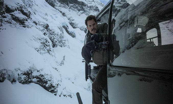 Henry Cavill in Mission Impossible - Fallout (2018)