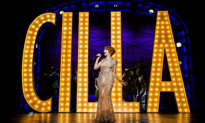 Kara Lily Hayworth as Cilla Black in CILLA THE MUSICAL. Photo: Matt Martin