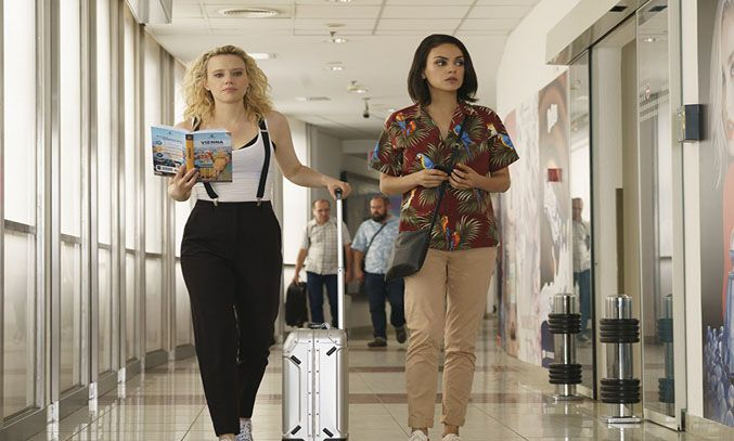 Mila Kunis and Kate McKinnon in The Spy Who Dumped Me (2018) © Lionsgate Entertainment