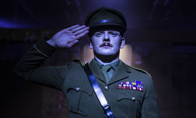 Chris Jenkins as Christopher in THE RETURN OF THE SOLDIER. Photo: Phil Tragen