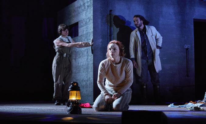 Kirsty Besterman as Lady Macbeth in MACBETH UK and Ireland Tour. Photo Credit: BrinkhoffMogenburg