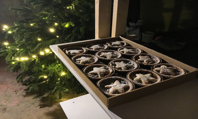 Mince Pies as the Magical Movie Christmas Experience