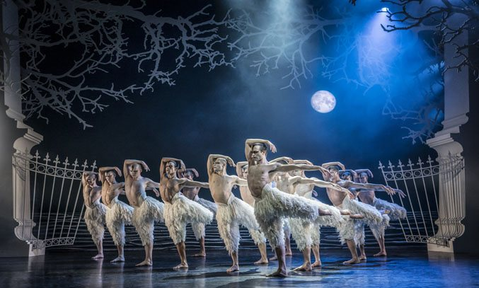 Matthew Bourne's SWAN LAKE UK Tour 2018. Photo Credit: Credit: Johan Persson