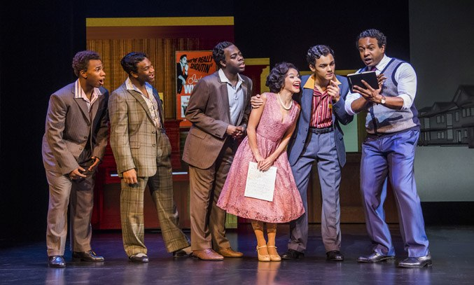 The Company of MOTOWN THE MUSICAL