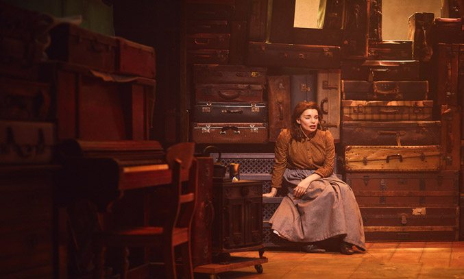 Rebecca Trehearn as Rebecca in RAGS at Hope Mill Theatre