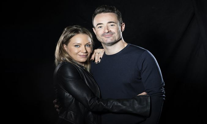 Rita Simons and Joe McFadden in THE HOUSE ON COLD HILL