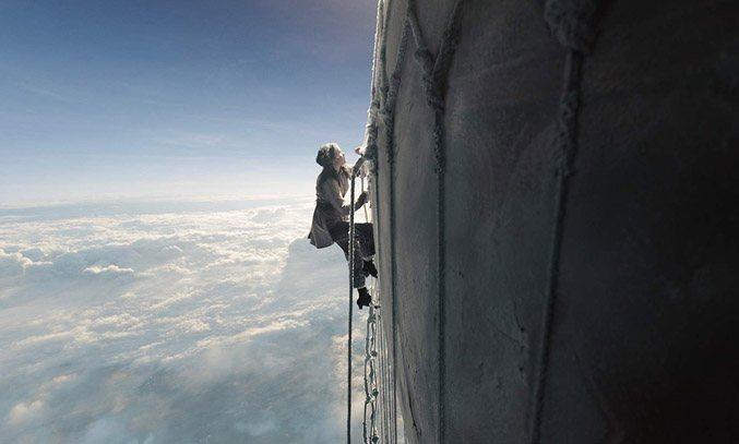 Felicity Jones in The Aeronauts