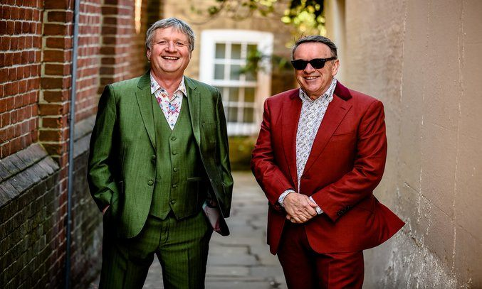 Glenn Tilbrook and Chris Difford. Photo Credit: Danny Clifford