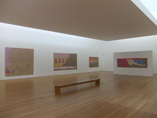 Ausstellungsansicht, Giorgio Griffa