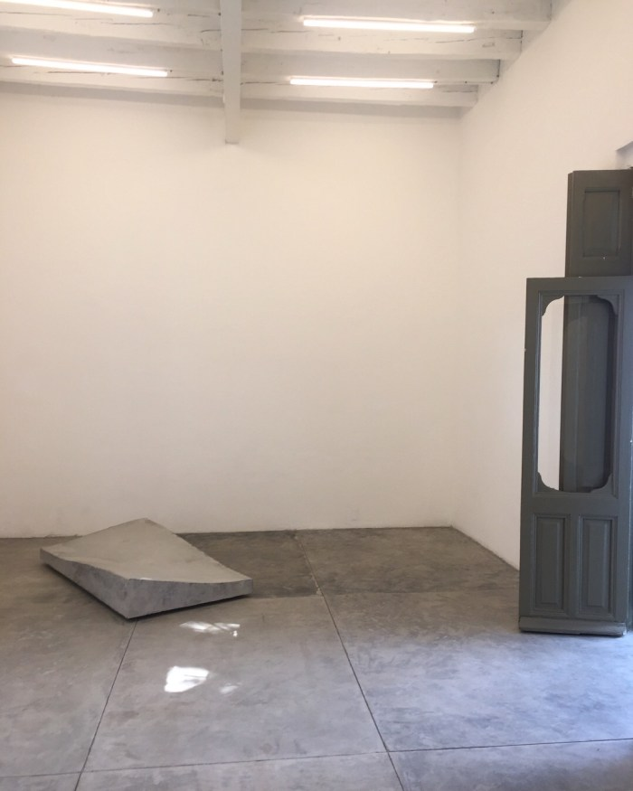 Marie Lund, Grip, 2018, Installation view, joségarcía ,mx Mexico City, Photo: franklyyours