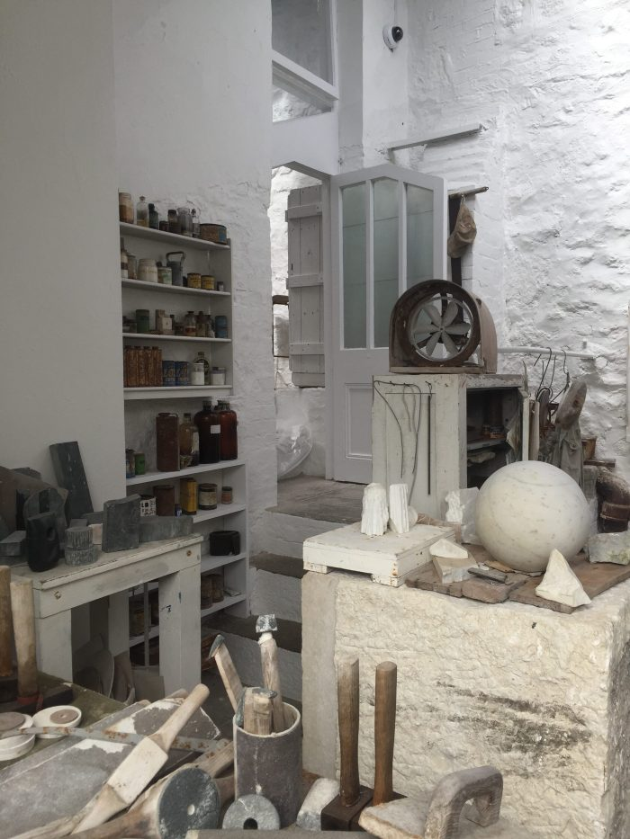 Barbara Hepworth Studio and Garden, St Ives, Photo: franklyyours