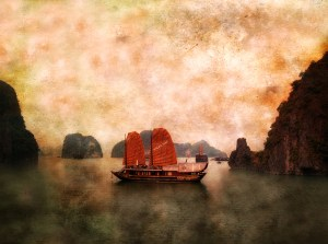 Halong Bay Junk, Robert Schenkein, 2004