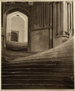 Frederick Evans, A Sea of Steps-Stairs to Chapter House -Wells Cathedral, 1903