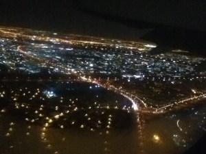 Dubai aerial view landing frankmwenda