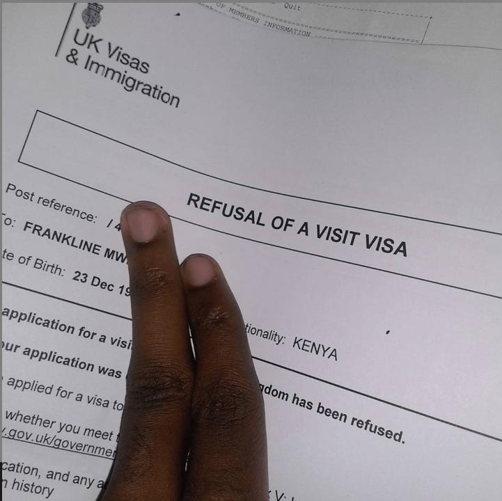 UK visa denied