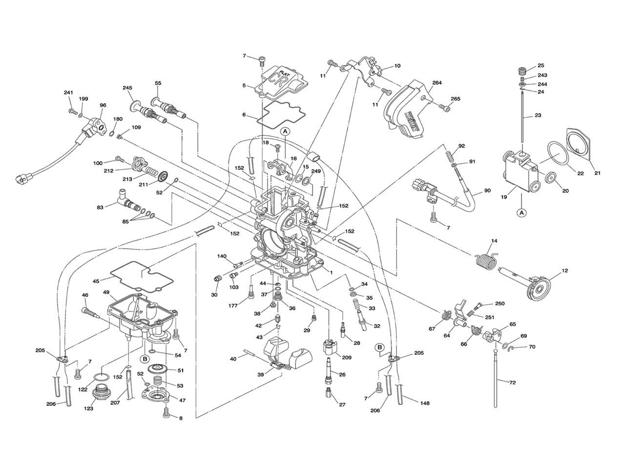 Carburetor Schematic