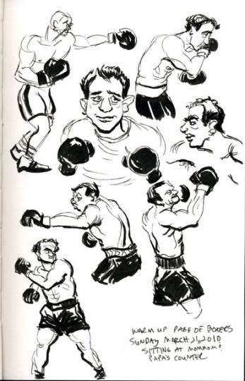 warm up boxers