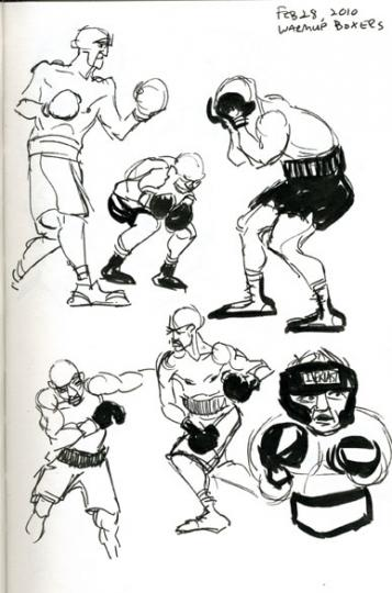 warm up boxers 2