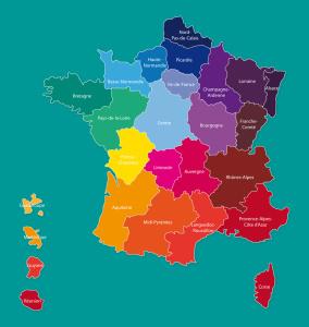 Regionen Frankreichs
