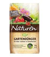 Naturen&reg, BIO Gartendünger für Obst- Gemüse- & Zierpflanzen, 4 kg