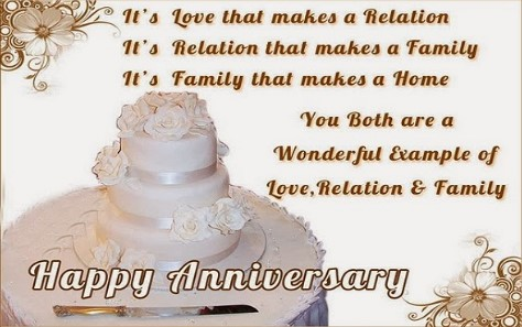 Top 10 anniversary wishes for parents 5 i feel so lucky to call you both my parents and i hope to have love like yours someday happy anniversary m4hsunfo Gallery