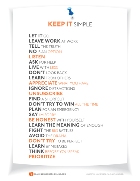 24 Ways to Simplify Your Life