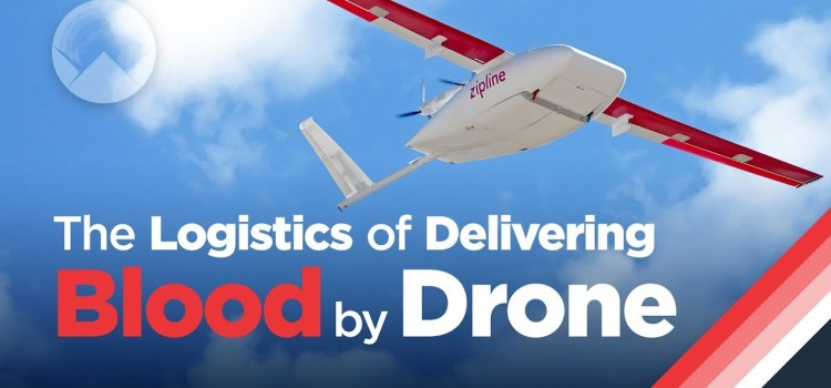 Delivering Blood By Drone
