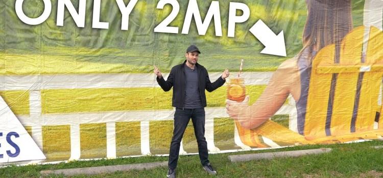 How Many Megapixels In A Billboard
