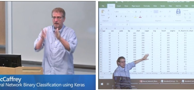 Binary Classification Using Keras