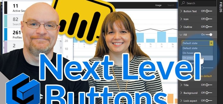 Taking Buttons in Power BI Desktop to the Next Level
