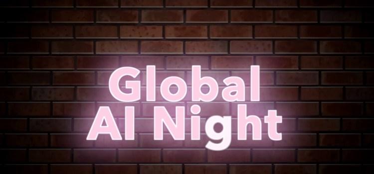 Global AI Night Tomorrow in Reston