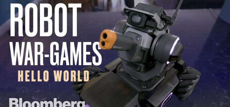 New $500 Robot Fires Lasers and Pellets