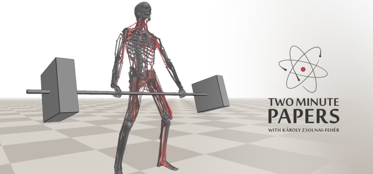 AI Powered Virtual Characters Learn To Work Out