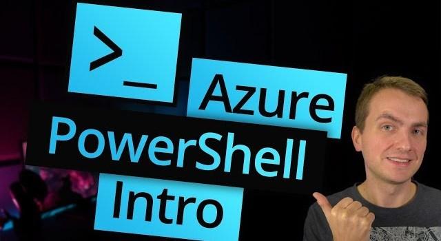 Azure PowerShell Introduction