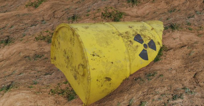 Leveraging Exaflops Performance to Remediate Nuclear Waste