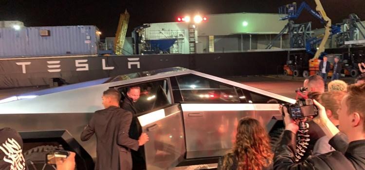 Tesla Cyber Truck Test Ride