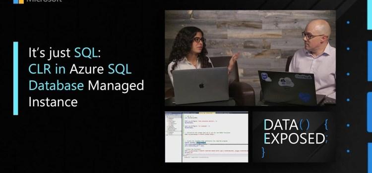 CLR in Azure SQL Database Managed Instance