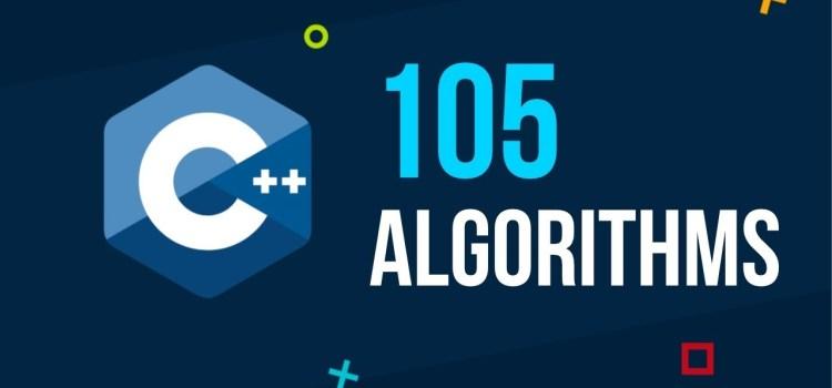 105 STL Algorithms in Less Than an Hour