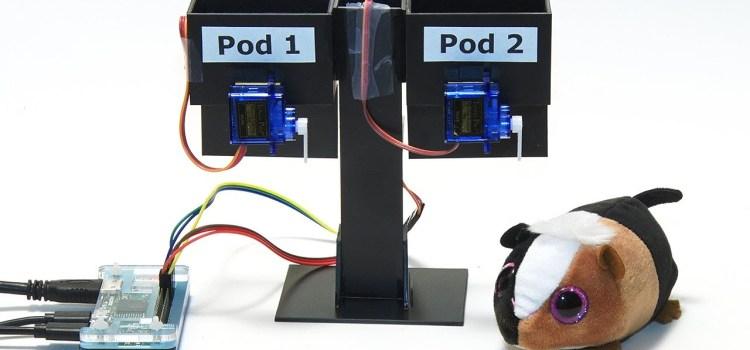 Raspberry Pi Zero Hamster Feeder