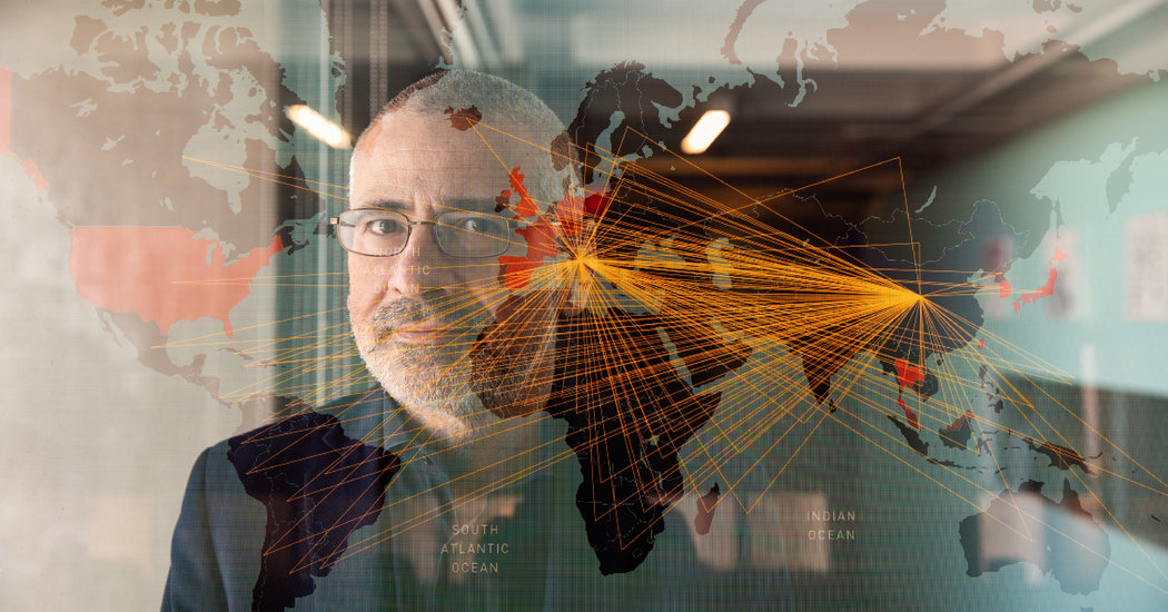 Mapping the Social Network of Coronavirus
