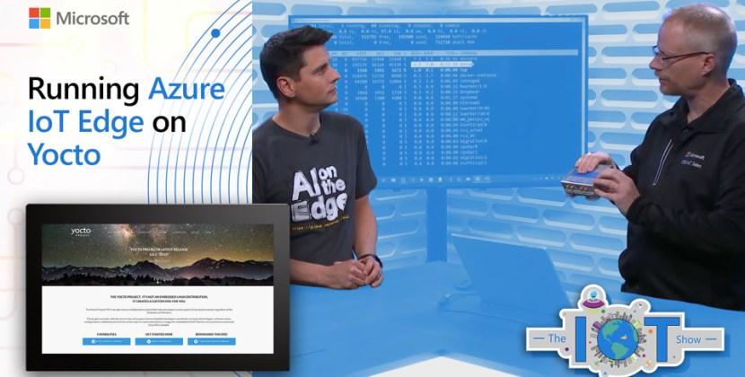 Running Azure IoT Edge on Yocto Linux