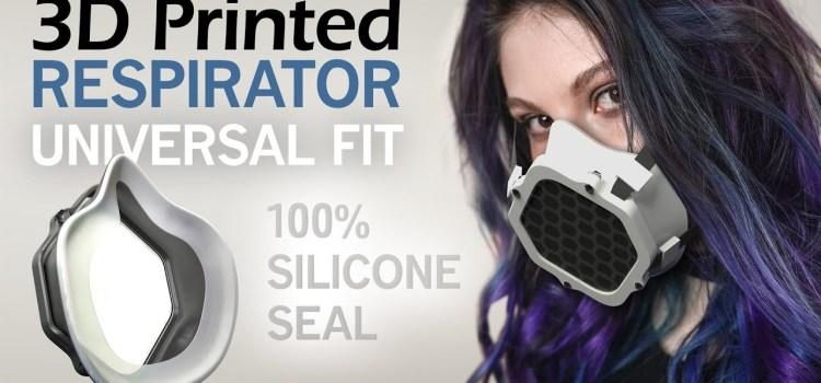 3D Printed Respirator Face Mask
