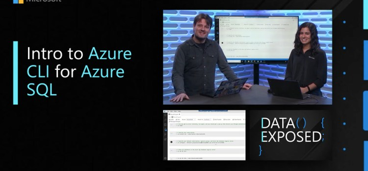 Intro to Azure CLI for Azure SQL