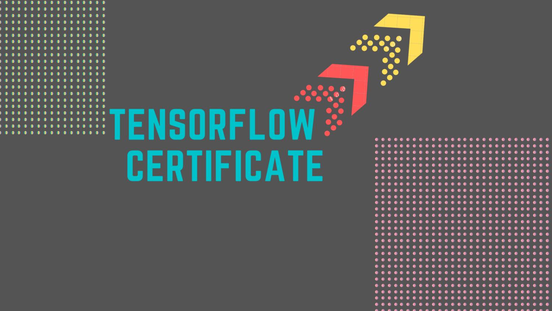 Data Science Goals: Take Your TensorFlow Developer Certificate Exam Now!