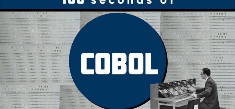 COBOL in 100 seconds