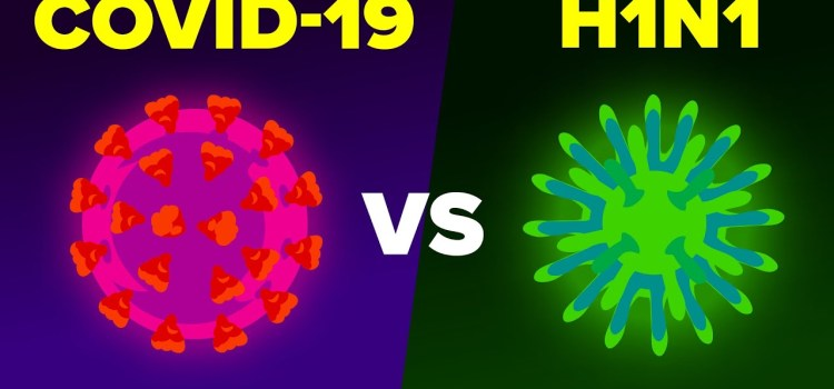 Coronavirus COVID-19 vs H1N1 Swine Flu