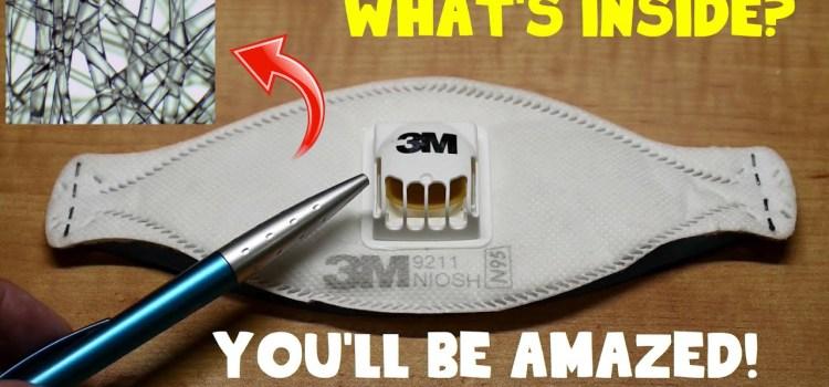 What's Inside 3M N95 Respirator Masks?