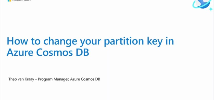 How to Change Partition Keys in Azure Cosmos DB