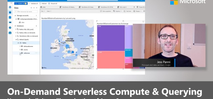 Azure Synapse and On-Demand Serverless Compute and Querying